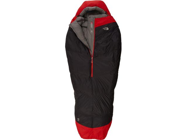 The North Face Inferno -40F -40C Long Asphalt Grey Centennial Red ... f3cf73bdc8505